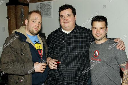 Shane Lyons, PJ Calapa (Chef), Bob Truitt
