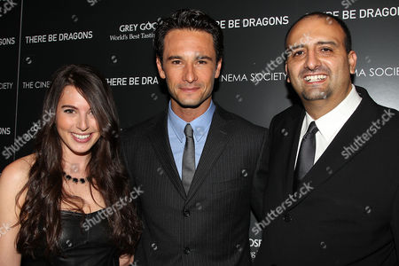Editorial photo of 'There Be Dragons' screening, Presented by The Cinemna Society and Samuel Goldwyn, New York, America - 05 May 2011