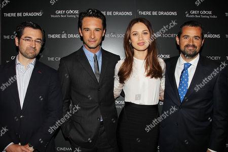 Ignacio Gomez -Sancha, Rodrigo Santoro, Olga Kurylenko and Nacho N