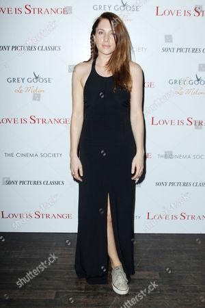 Editorial picture of Cinema Society 'Love Is Strange' film screening, New York, America - 18 Aug 2014