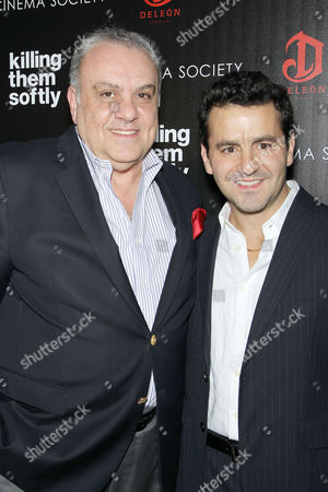 Vincent Curatola and Max Casella