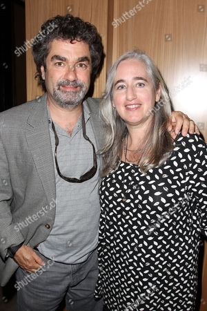 Stock Picture of Joe Berlinger and Loren Eiferman (wife)