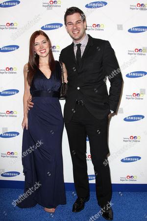 Rachael Kun and Tim Morehouse