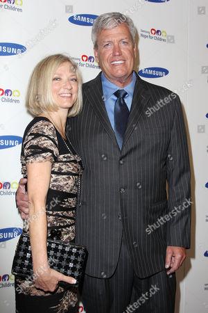 Michelle Ryan and Rex Ryan