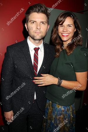 Adam Scott and Naomi Sablan
