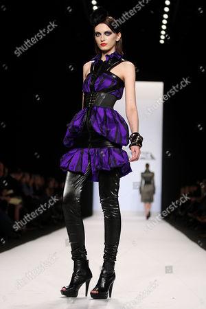 Editorial photo of Project Runway Season 7 Finale 2010 Mercedes-Benz Fashion Week, New York, America - 12 Feb 2010