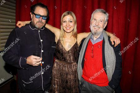 Julian Schnabel, Lucy Alibar (Screenwriter) and Robert Benton
