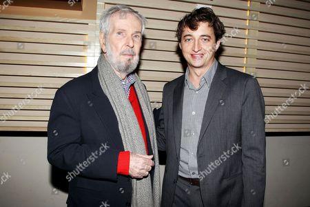Stock Photo of Robert Benton and Benh Zeitlin (Director)