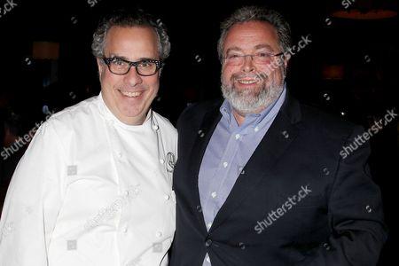 Stock Image of Michael Lomonaco and Drew Nieporent