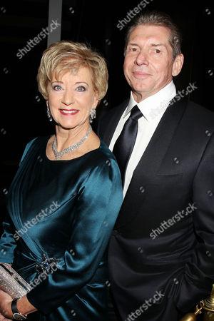Stock Photo of Linda McMahon and Vince McMahon