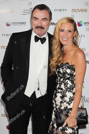 Tom Selleck and Paige Hemmis