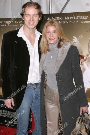Candace Bushnell with her husband Charles Askegard