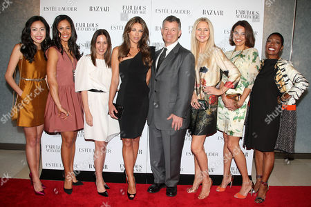 Editorial image of Harper's Bazaar and Estee Lauder Celebrate the Winners of the 'Fabulous at Every Age' Contest, New York, America - 12 Apr 2011