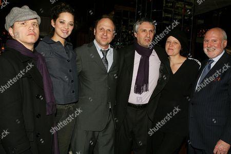 Olivier Dahan, Marion Cotillard, Bob Berney, Alain Goldman, Sara Rose and Michael Lynne