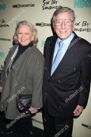 Barbara Cook and Tony Bennett