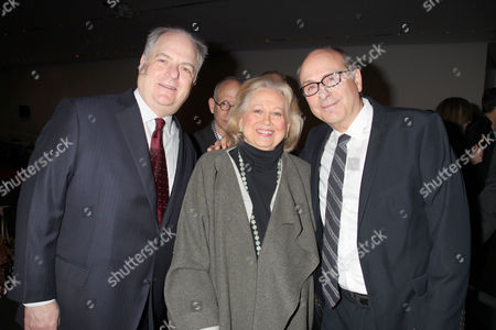 Frank Rich, Barbara Cook and James Lapine