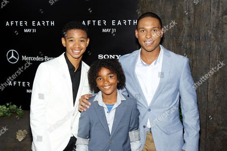 Stock Image of Darien Seaberry, Jaden Martin and Louis Stancil