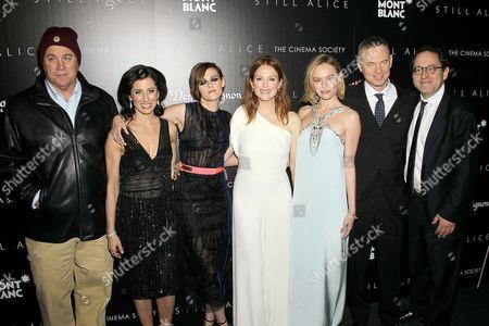 Tom Bernard (SPC), Lisa Genova (Author), Kristen Stewart, Julianne Moore, Kate Bosworth, Wash Westmoreland, Michael Barker (SPA)