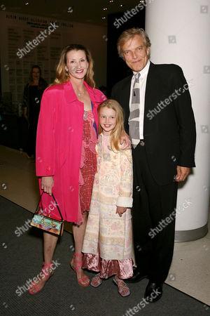 Darci Kistler, Peter Martins and daughter