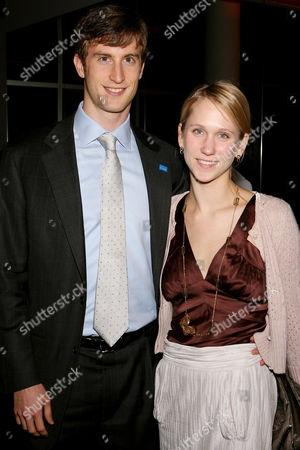 Justin Rockefeller with fiancee Indre Vengris
