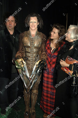 Editorial picture of 'EDWARD SCISSORHANDS' OPENING NIGHT AT SADLER'S WELLS THEATRE, LONDON, BRITAIN - 30 NOV 2005