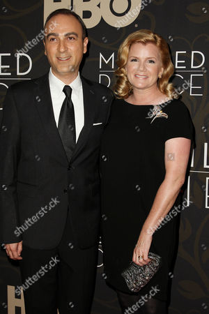 Stock Picture of Jason Trucco and Mare Winningham