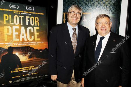 Editorial image of 'Plot For Peace' film screening, New York, America - 23 Oct 2014