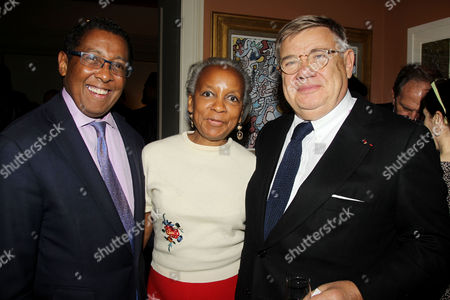 Stock Image of Bill Wright, Yvonne Durant and Jean-Yves Ollivier