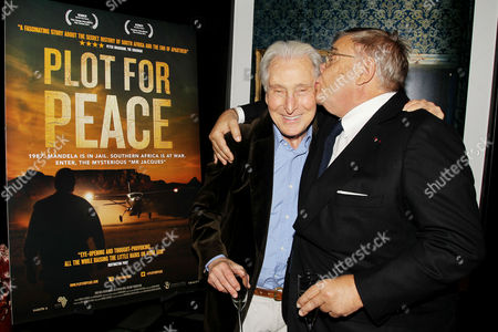 Editorial picture of 'Plot For Peace' film screening, New York, America - 23 Oct 2014