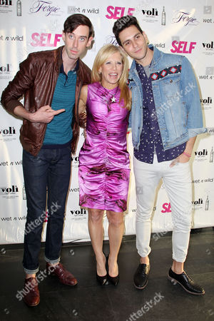 Lucy Danziger, Ryland Blackinton and Gabe Saporta