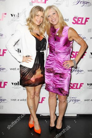 Stacy Ferguson and Lucy Danziger