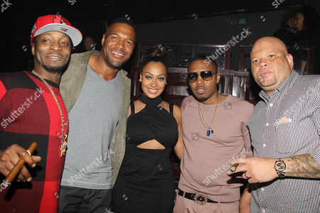 Editorial image of 'NAS: Time Is Illmatic' film premiere after party, New York, America - 30 Sep 2014