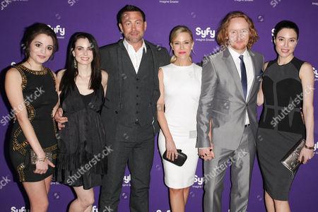 Stephanie Leonidas, Mia Kirshner, Grant Bowler, Julie Benz, Tony Curran and Jaime Murray