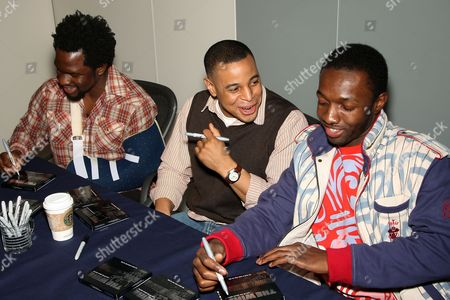 Editorial photo of 'The Wire' TV Series New Soundtrack CD signing, New York, America - 31 Jan 2008