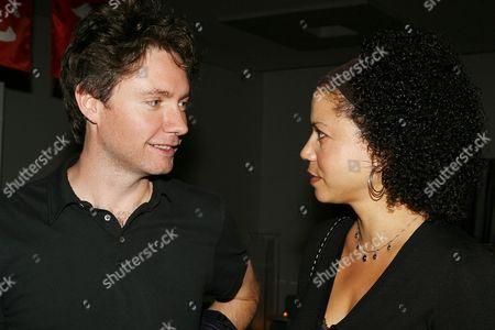 Kevin Macdonald and Gloria Ruben
