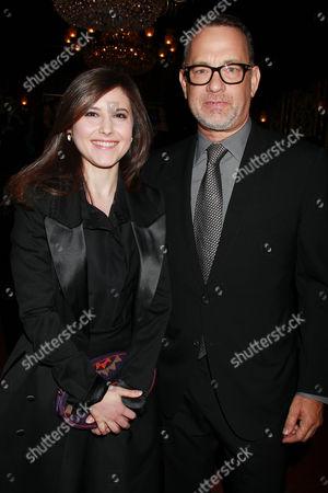 Melissa Farman and Tom Hanks