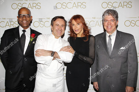 Patrick Harrison, Chef Daniel Boulud, Tina Louise and guest