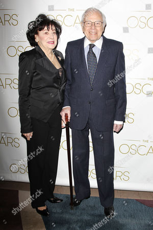 Stock Picture of Sid Ramin with wife Gloria