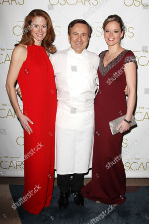 Editorial image of 85th Annual Academy Awards Oscars, viewing party at DANIEL restaurant, New York, America - 24 Feb 2013