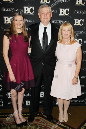 Randy Falco (Pres. and CEO, Univision Communications) with family