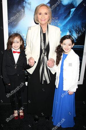 Ripley Sobo, Eva Marie Saint and Mckayla Twiggs