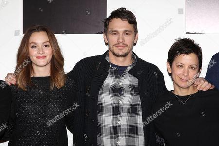 Leighton Meester, James Franco and Anna D Shapiro