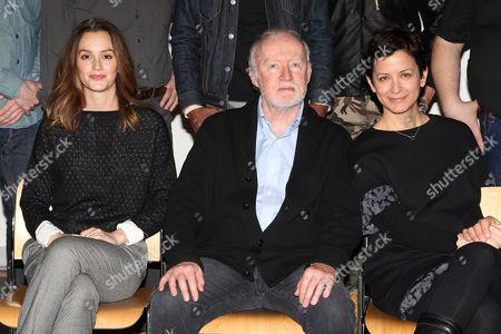 Leighton Meester, Jim Norton and Anna D Shapiro