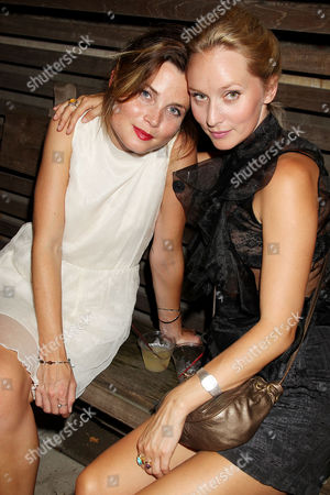 Stock Picture of Gitte Witt and Mona Fastvold