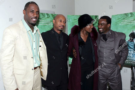 Idris Elba, Raoul Peck, Carol Karemera and Oris Erhuero