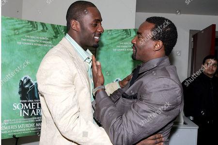Idris Elba and Oris Erhuero