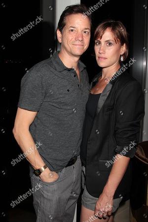 Frank Whaley with wife Heather Bucha