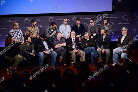 The Writers of The Late Show and Executive Producer Matt Roberts