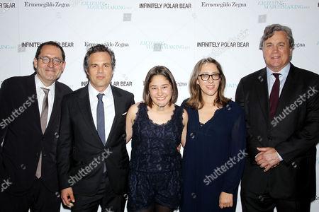 Michael Barker (Co-Pres. SPC), Mark Ruffalo, Imogene Wolodarsky, Maya Forbes (Director), Tom Bernard Co-Pres. SPC)