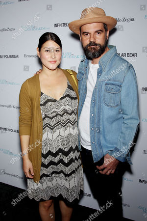 Stock Picture of Mizuo Peck with Guest